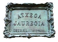 Restaurante Atxega Jauregia escudo