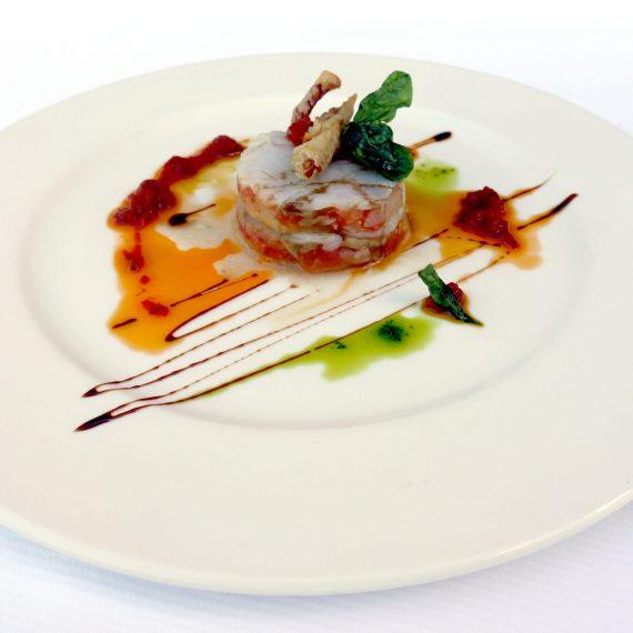 Platos en el Restaurante de eventos y celebraciones en Gipuzkoa